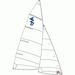 420 jib Windesign Sailing